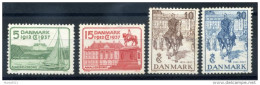1937 DANIMARCA SET */(*) - 1913-47 (Christian X)