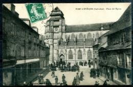 # - PONT L'EVEQUE - Place De L'Eglise - Pont-l'Evèque