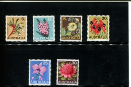 408054500 DB  1968 AUSTRALIE  POSTFRIS MINT NEVER HINGED  POSTFRISCH EINWANDFREI YVERT 367 368 369 370 371 372 - Mint Stamps