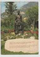 MONACO -FONTVIEILLE - ROSERAIE PRINCESSE GRACE - LA STATUE  S. A. S. LA PRINCESSE GRACE - Fontvieille