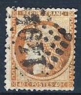 "YT 38 "" Cérès 40c. Orange "" 1870 GC 1494 LA FERTE-MACE"