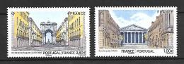 France 2016 - Yv N° 5087 Et 5088 ** - Emission Commune France - Portugal (Mi 6596 Et 6597) - France