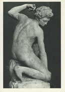 Eros   Michel-Ange - Victoria And Albert Museum London  # 05273 - Sculptures