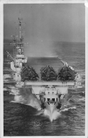 CARTE PHOTO PORTE AVIONS LE LAFAYETTE - Warships
