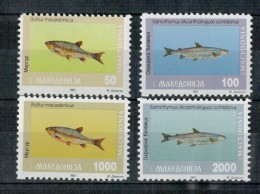 MACEDONIA    FISHS       MNH ** - Macedonia