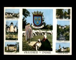 36 - VILLEDIEU-SUR-INDRE - Multi Vues - France