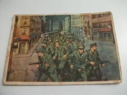 MUSEO STORICO DELLA GUARDIA DI FINANZA  REGGIMENTO FINANZIERI MILANO AGLI ORDINI DEL COLONELLO MALGERI 1945 - Reggimenti