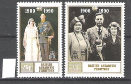 British Antarctic Territory 1990 Queen Mother's Birthday  MNH  CV £4.50 - Territoire Antarctique Britannique  (BAT)