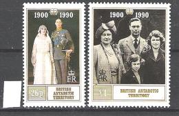 British Antarctic Territory 1990 Queen Mother's Birthday  MNH  CV £4.50 - Ungebraucht