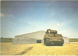 Bastogne - Bastogne Historical Center - Car Sherman Offert Par Le Général Desobry - Marque Hôtel Restaurant Le Borges - Bastogne