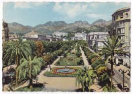 MENTON. - Les Jardins Et La Montagne Ste-Agnès . CPSM - Menton