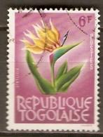 T O G O   -   1964 . Y&T N° 397 A Oblitéré.  Fleur - Togo (1960-...)