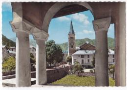 ST-ETIENNE-DE-TINEE. - L´Eglise Et Village. CPSM - France