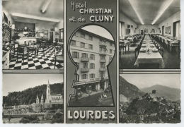 LOURDES - Hôtel CHRISTIAN Et De CLUNY - Vues Multiples - Lourdes