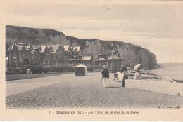 G , Cp , 76 , DIEPPE , Les Villas De La Rue De La Grève - Dieppe
