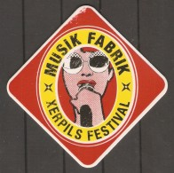 SOUS - BOCK  Vosgien.  MUSIK FABRIK   X   XERPILS FESTIVAL. Xertigny  Les 29 Et 30.10.2016. - Sous-bocks