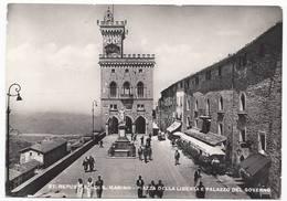 San Marino - Piazza Della Libertà E Palazzo Del Governo - H3209 - San Marino