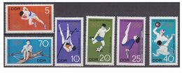 Timbres Allemand De La DDR Pour Les Jeux De Mexico 1968 Série Complète Neuve 6 Tp Y&T N° 1100/05 ** MNH Superbe !!! - Sommer 1968: Mexico