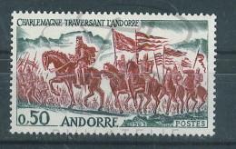 VEND BEAU TIMBRE D´ANDORRE N°167 , XX !!!! - Andorre Français