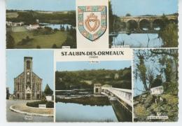 SAINT AUBIN DES ORMEAUX - Vues Multiples - France