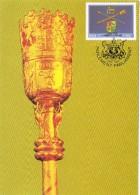19850. Tarjeta Maxima EL CABO /(RSA) 1985. Centenary Of Parliament - África Del Sur (1961-...)