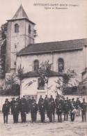 BETTEGNEY SAINT-BRICE Eglise Et Monument (Cérémonie Au Monument) - France