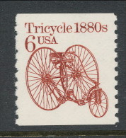 USA 1985 Scott # 2126. Transportation Issue: Tricycle 1880s, MNH (**). - Coils & Coil Singles