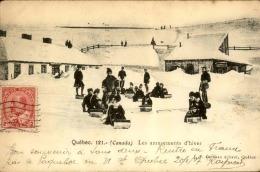 CANADA - Carte Postale De Québec , Les Amusements De L ' Hiver , Luges D 'enfants En 1907 - A Voir - L 5124 - Quebec