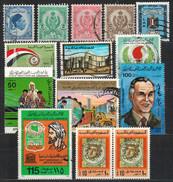 LIBYEN - Kleines Lot 14x  Used / MNH - Libyen