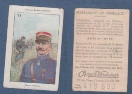 CHROMO PÂTES BOZON VERDURAZ WW1 MARECHAUX ET GENERAUX - PASSAGA GENERAL DE DIVISION - SERIE H N° 17 - Autres