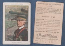 CHROMO PÂTES BOZON VERDURAZ WW1 MARECHAUX ET GENERAUX - GUEPRATE VICE-AMIRAL - SERIE H N° 20 - Autres