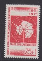TAAF 1971 Antarctic Treaty 1v  ** Mnh (33271) - Franse Zuidelijke En Antarctische Gebieden (TAAF)