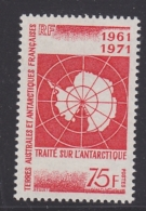 TAAF 1971 Antarctic Treaty 1v  ** Mnh (33271) - Ongebruikt