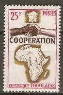T O G O       -   1964  .   Y&T N° 424 *.   Coopération  /  Mains - Togo (1960-...)