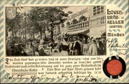 ALLEMAGNE - Carte Postale De Muenchen , Vue Très Animée De Terrasse De Café En 1907 - A Voir - L 5132 - Muenchen