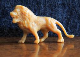 La Roche Aux Fées : Série Du Cirque : Lion - Figurine Complète & Intacte - Figurines