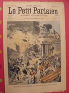 "Le Petit Parisien N° 752. 1903. Angleterre Explosion Arsenal De Woolwich. Scaphandrier Recherche Cadavres Navire ""liban"" - Libros, Revistas, Cómics"
