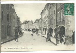 REMIREMONT - Grande-Rue - Remiremont