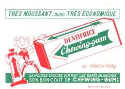 Buvard    Dentifrice Chewing-Gum - D