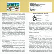 EPHEMERIDES - ANNIVERSAIRE DU DROIT D'HYPOTHÈQUES - DOCUMENT INSTRUCTIF DE L´ÉMISSION DE TIMBRE ESPAGNE - España
