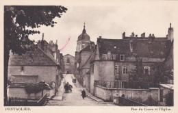 A7 - 25 - Pontarlier - Doubs - Rue Du Cours Et L'Eglise - Pontarlier