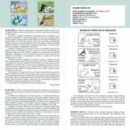 VALEURS CIVIQUES - PROTECTION DES PERSONNES HANDICAPÉES - DOCUMENT INSTRUCTIF DE L´ÉMISSION DE TIMBRE ESPAGNE - España