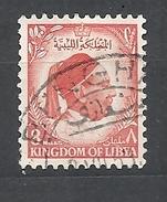 LIBIA    1952 King Idris   USED - Libya