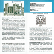 CATHÉDRALE DE SIGÜENZA - DOCUMENT INSTRUCTIF DE L´ÉMISSION DE TIMBRE ESPAGNE - España