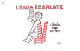 D EE/Buvard Détachant Eau Ecarlate (N= 1) - Buvards, Protège-cahiers Illustrés