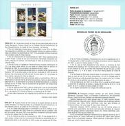 PHARES - DOCUMENT INSTRUCTIF DE L´ÉMISSION DE TIMBRE ESPAGNE - España