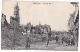 CAMBRAI. - Rue Des Liniers. Superbe Cliché RARE - Cambrai