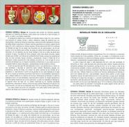 POTERIE ESPAGNOLE - MANISES - DOCUMENT INSTRUCTIF DE L´ÉMISSION DE TIMBRE ESPAGNE - España