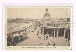 Vista Panoràmica De La Rambla - Mar Del Plata - Argentina - Argentine - Timbre/stamp - Argentine