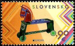 Slovakia - 2015 - Europa CEPT - Old Toys - Mint Stamp - Slovakia